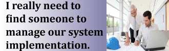 Failed to implement system? See how to implement your business system now.