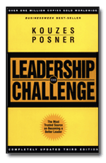"Cover to the book ""The Leadership Challenge"" by James M. Kouzes and Barry Z. Posner"