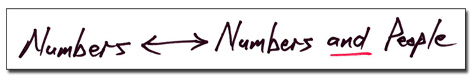 Numbers --- Numbers and People