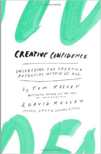 Book Cover of Creative Confidence