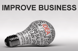 Improve Business - image of light bulb