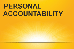 Personal Accountability - sun rising